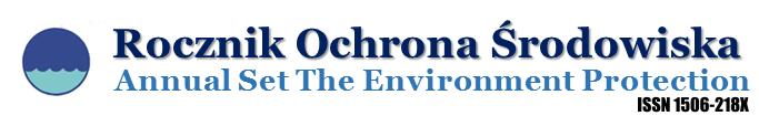 ROCZNIK OCHRONA ŚRODOWISKA (Annual Set The Environment Protection)